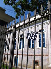 """Maison """"azulejo"""" derrière une grille de fer,, N° 313. Rio."""