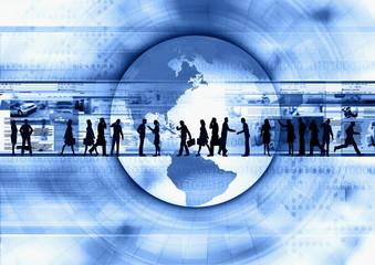 Wall Mural - Internet business concept 02