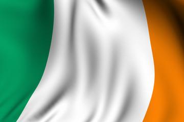 Rendered Irish Flag