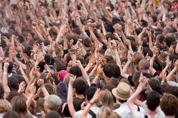 fan public foule applaudir musique concert