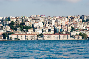 Urban view in Istanbul