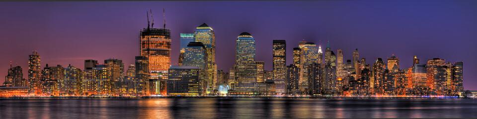 Lower Manhattan in HDR