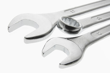 Close Up of Spanners