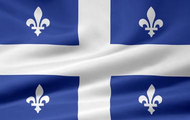 Quebec Flagge