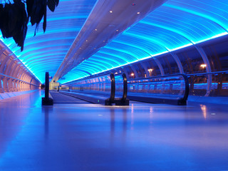 Canvas Prints Airport airport walkway
