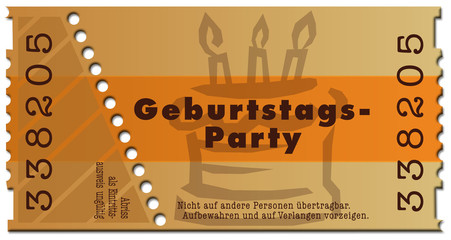 ticket-geburtstagsparty