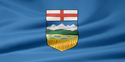 Alberta Flagge