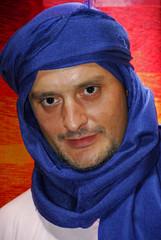 Hombre con turbante