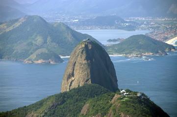 Pain de sucre, Rio, Brésil.