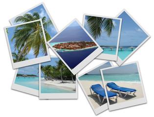 Vacanze -polaroid