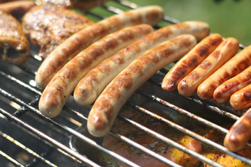 Deurstickers Grill / Barbecue Barbecue III