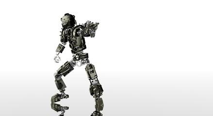robot aiming