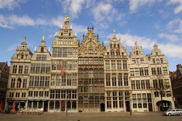 Stores à enrouleur Antwerp Grote Markt, Antwerpen