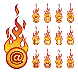 fireicons computer theme