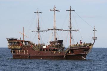 Türaufkleber Schiff the pirates
