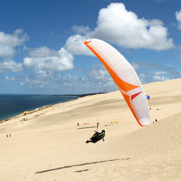 Parapente dune du pyla