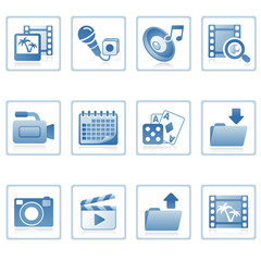 Web icons : multimedia on mobile