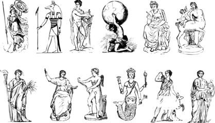 Mythological vectors