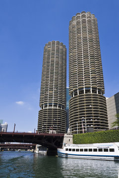 Marina Towers Buildings in Chicago
