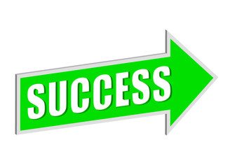 """Success"" signpost"