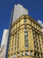 Immeubles anciens et modernes, Rio de janeiro, Brésil.