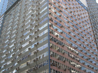 Immeuble de bureaux en coin, Rio de Janeiro, Brésil