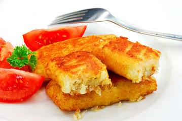 gefüllte teigtaschen , mit käse,kräutern
