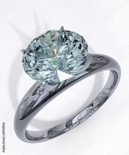 platinring mit diamant stockfotos und lizenzfreie bilder auf bild 8930924. Black Bedroom Furniture Sets. Home Design Ideas