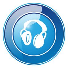 Kopfhörer - Button