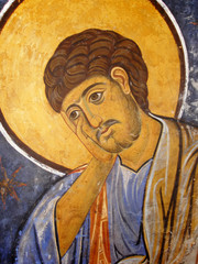 St. Thomas Icon In Easter Orthodox Christian Style