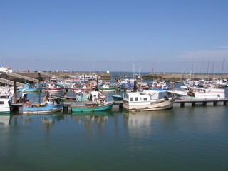 Bateaux de pêche dans le port du Croisic