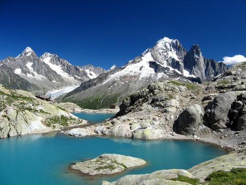 Le Lac Blanc, Chamonix, France