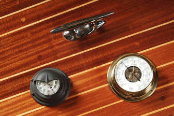 Nautical measuring devices