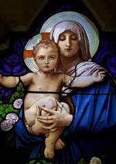Icone Marie et jésus enfant