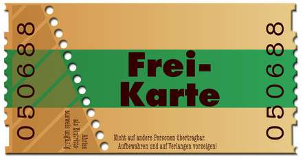 ticket-freikarte