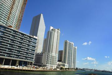 Tall condos near te port of miami