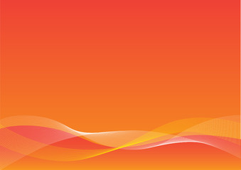 Orange Blend Background
