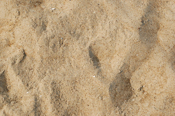 close up of sand texture