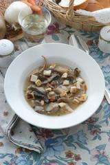 Zuppa di funghi - Primi Emilia Romagna