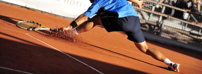 Tennis slide