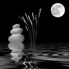 Zen Moonlight - fototapety na wymiar