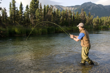 Salmon Fishing in Alaska