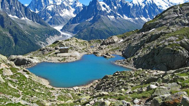 Le Lac Blanc de Chamonix