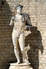 Roman statue in Vaison-la-Romaine, France
