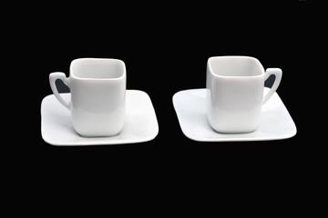 tasses de porcelaine