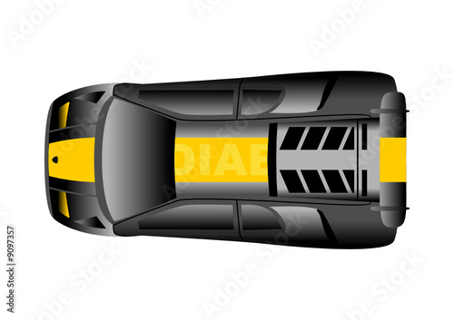 Sport Car Top View Stock Image And Royalty Free Vector Files On