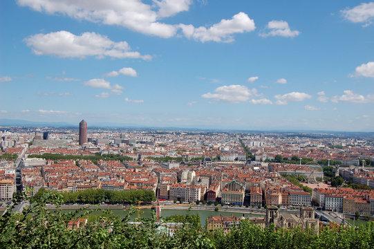 Lyon, vue panoramique