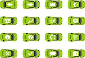 Auto web icons 3