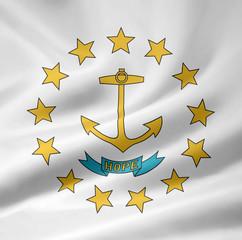 Rhode Island Flagge
