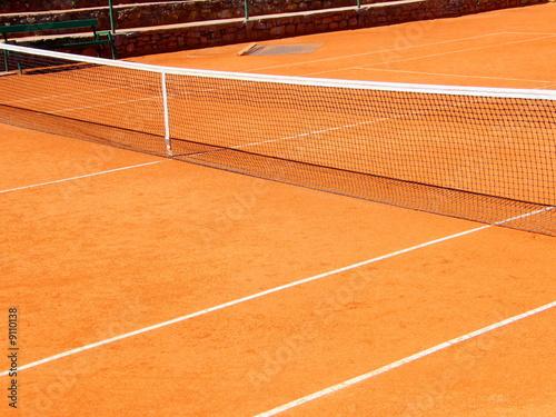 terrain de tennis\